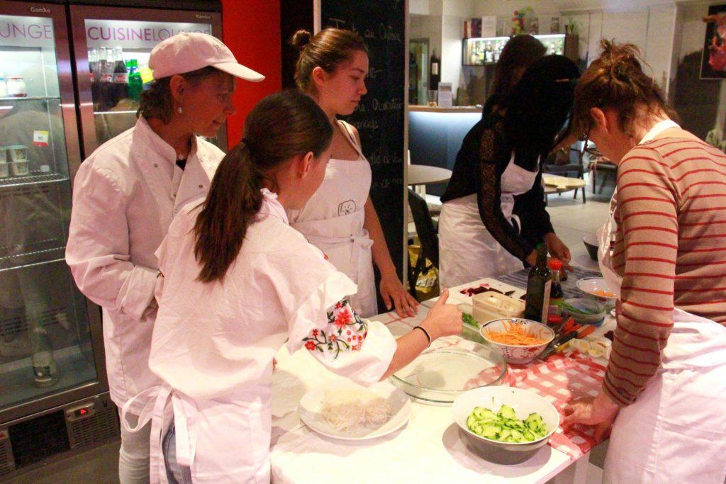 cours de cuisine collectif
