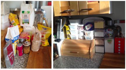 organisation en cuisine : gérer l'espace