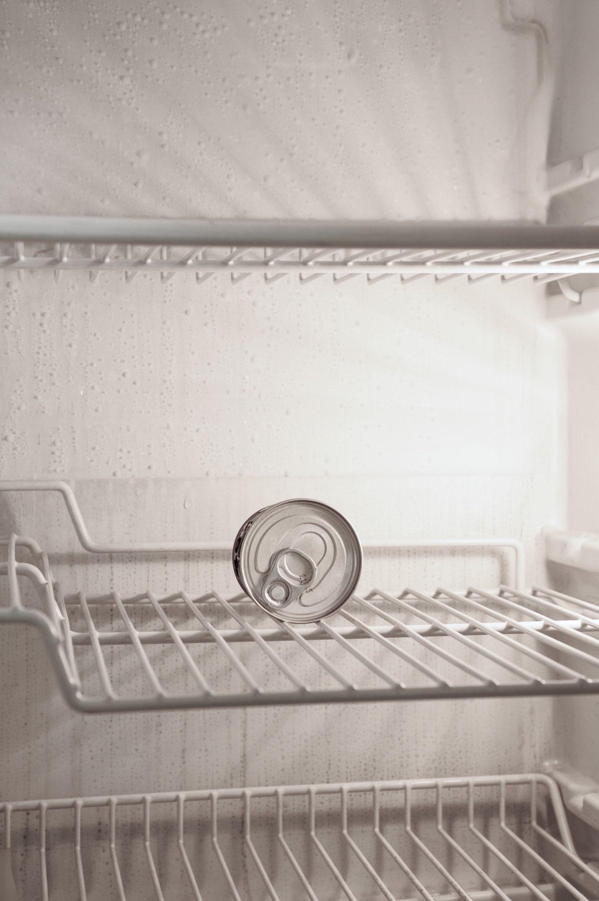 approvisionnement -frigo vide