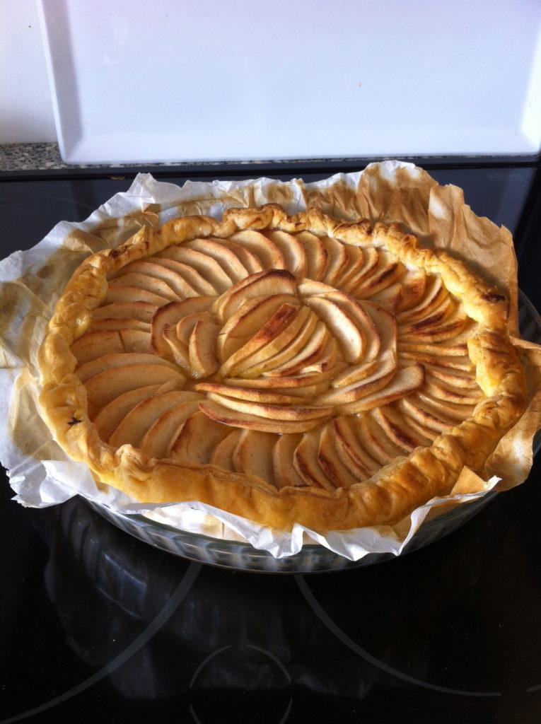 cours cuisine tarte aux pommes