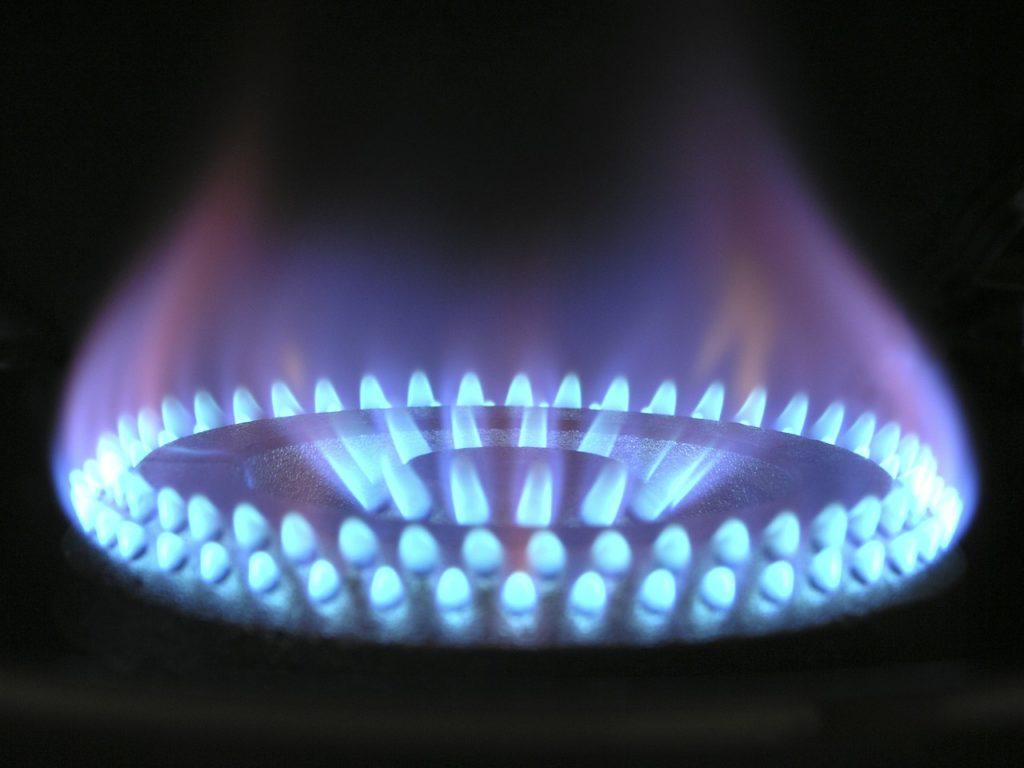 flamme gaz