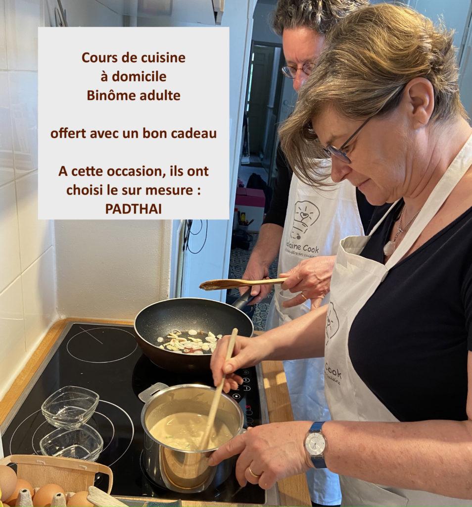 atelier cuisine binôme adulte